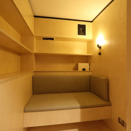 Our listening booths are available for quiet spots for contemplation or thinking time.